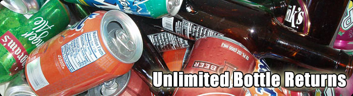 Unlimited Bottle Returns