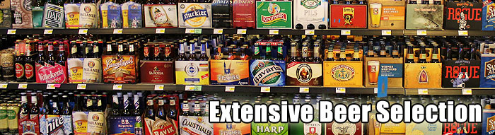 Extensive Beer Selection